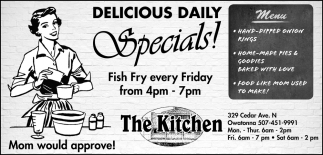 Delicious Daily Specials!