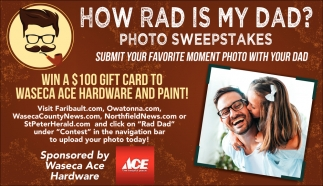 How rad is my dad? Photo Sweepstakes