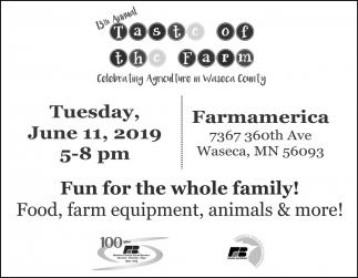 13th Annual Taste of the Farm