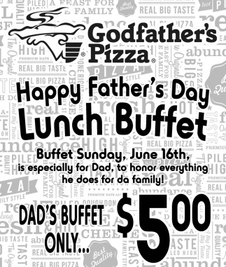 Happy Father's Day - Lunch Buffet
