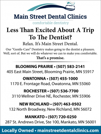Less Than Excited About a Trip To The Dentist?