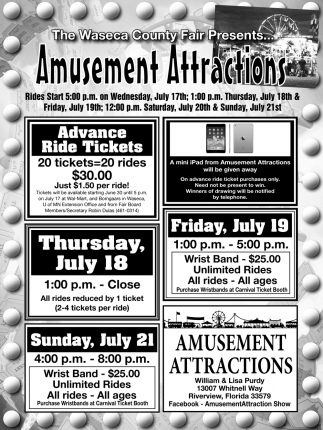 Amusement Attractions