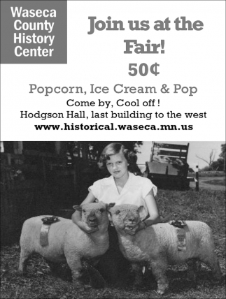 join us at the Fair 50¢