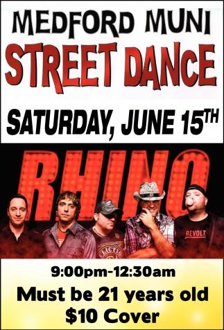 Medford Muni Street Dance - June 15th