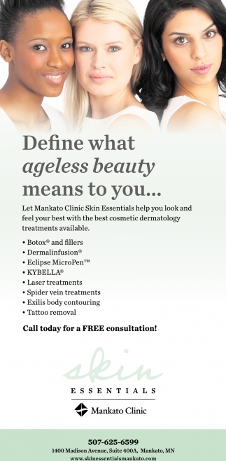 Define what ageless beauty means to you...