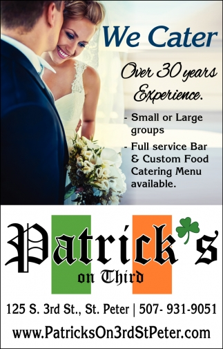 We Cater - Over 30 Years Experience