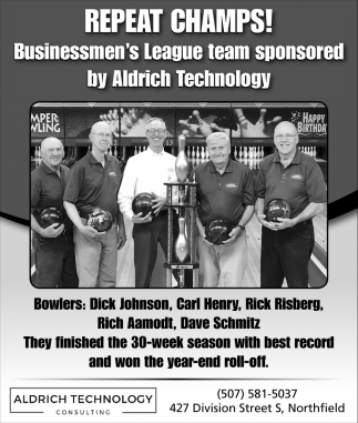 Repeat Champs! - Dick Johnson, Carl Henry, Rick Risberg, Rich Aamodt, Dave Schmitz