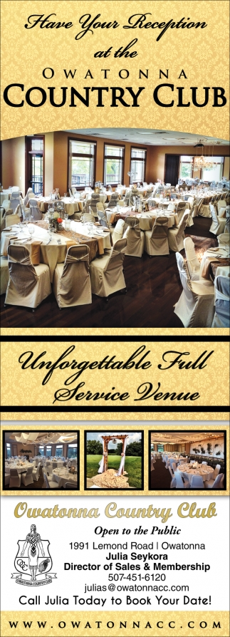 Have Your Reception - Unforgetabble Full Service Venue