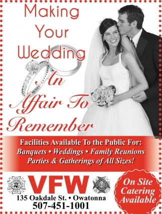 Making Your Wedding - An Affair to Remember