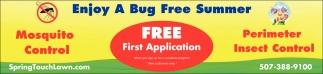Enjoy A Bug Free Summer