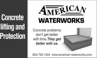 Concrete Lifting and Protection