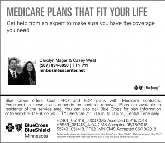 Medicare Plans That Fit Your Life