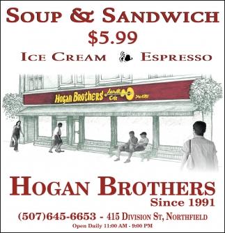 Soup & Sandwich $5.59
