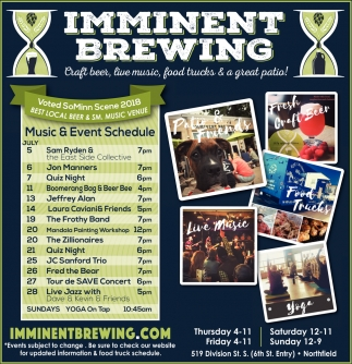 Music & Event Schedule