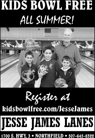 Kids Bowl Free All Summer!