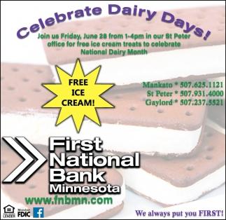 Celebrate Dairy Days!