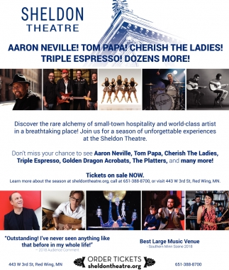Aaron Neville! Tom Papa! cherish The Ladies! Triple Espresso! Dozens More!