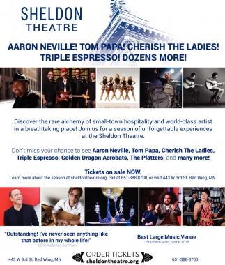Aaron Neville! Tom Papa! cherish The Ladies! Triple Espresso! Dozens More!