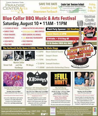 ABlue Collar BBQ Music & Arts Festival