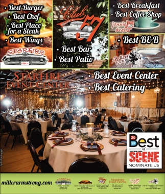 Starfire Event Center - Best of Scene nominate us