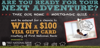 Take our home / Mortgage quiz and be entered for a chance to Win a $100