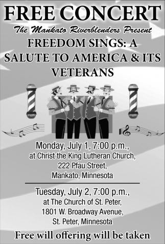Free Concert at Christ the King Lutheran Church