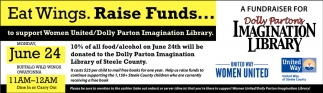 A fundraiser for Dolly Parton's Imagination Libray