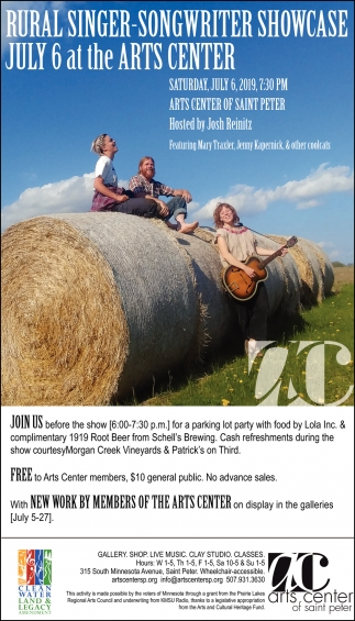 Rural Singer - Songwriter Showcase - July 6