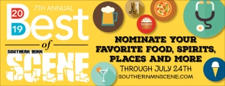 Nominate Your Favorite Food, Spirits, Places and More