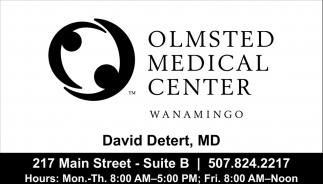 David Detert, MD