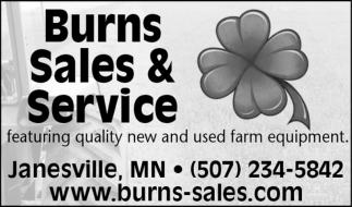 Featuring quality new and used farm equipment