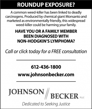 Have you or a family member been diagnosed with Non-Hodgkin's Lymphoma?