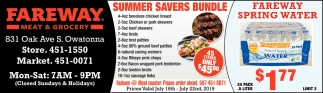 Summer Savers Bundle