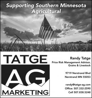 Supporting Southern Minnesota Agricultural