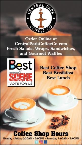 Best of Scene: Best Coffee Shop, Best Breakfast, Best Lunch