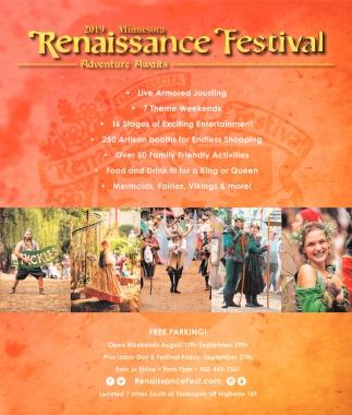 2019 Minnesota Renaissance Festival