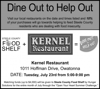 Dine Out to Help Out