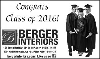 Congrats Class of 2016!