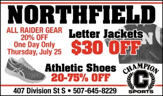 Letter Jackets $30 off