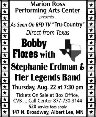 Bobby Flores with Stephanie Erdman & Her Legends Band