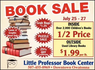 Book Sale / July 25 - 27