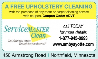 A Free Upholstery Cleaning
