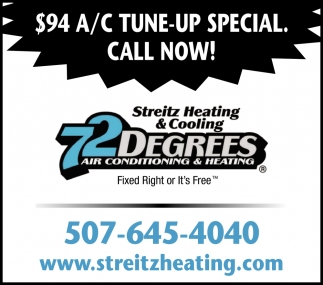 $94 A/C Tune-UP Special