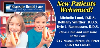 New Patients Welcomed!