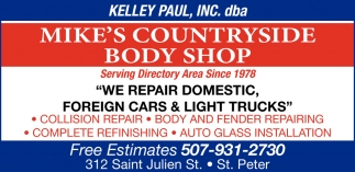 We repair domestic, foreign cars & lights trucks