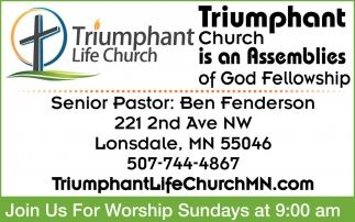 Senior Pastor: Ben Fenderson