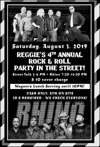 4th Annual Rock & Roll Party in The Street