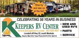Celebrating 56 years in business
