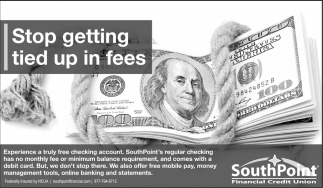 Stop getting tied up in fees