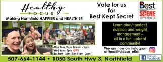 Vote for us for Best Kept Secret